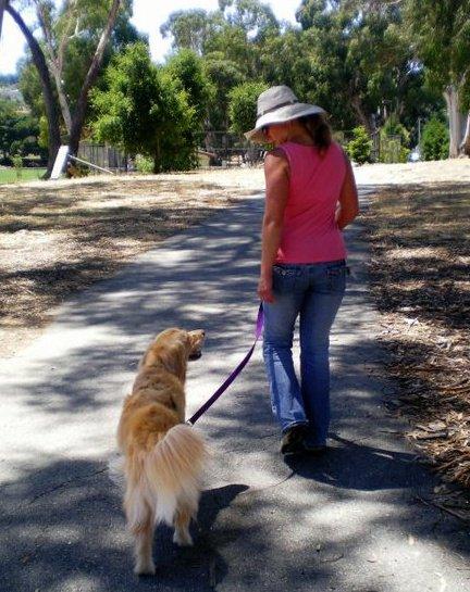 Sadie and Lisa on Spur Trail.
